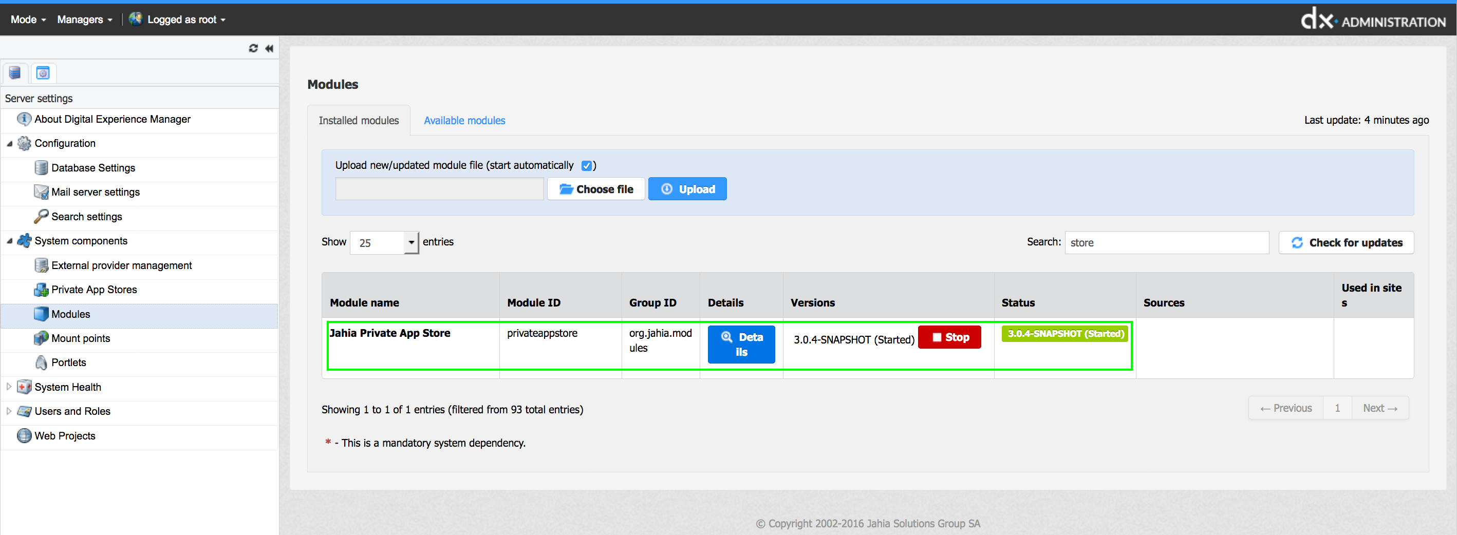 Private AppStore Documentation| Private AppStore (2 0)
