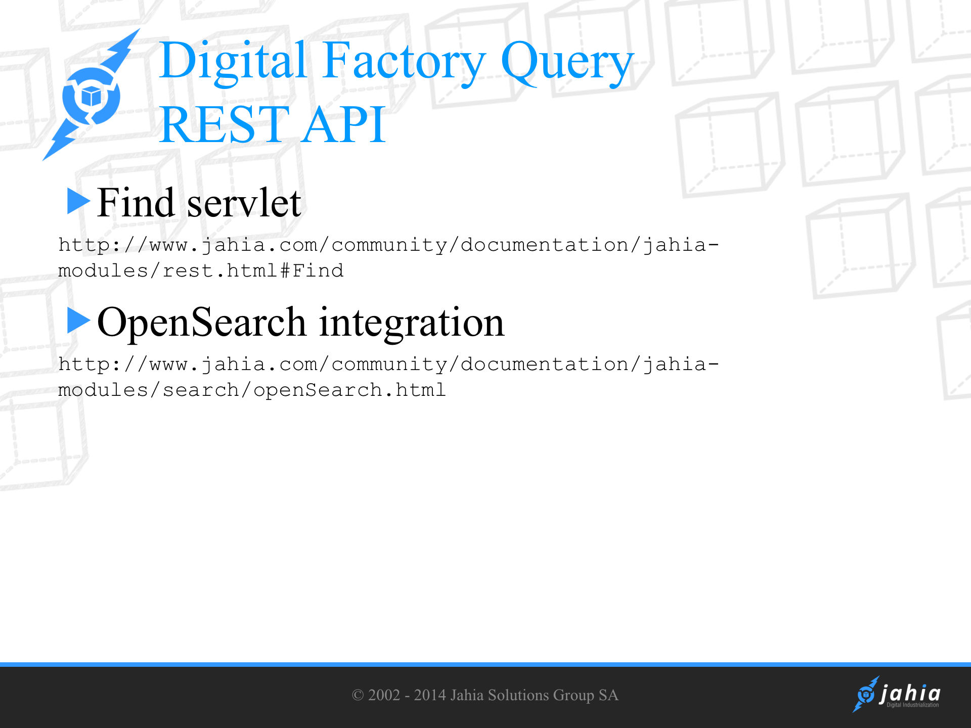 Query and search API under the hood | Digital Experience
